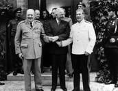 Churchill, Truman, and Stalin