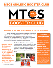 Check out how you can become part of our Athletic Booster Club