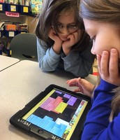 Lino App that allows us to virtually have discussions with other schools!