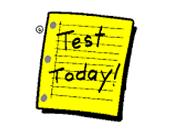 Upcoming Tests