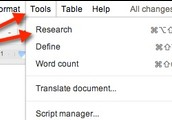 In your Google Doc