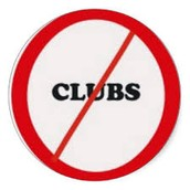 No Clubs the last week of school