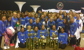 GHS Fabulous Fillies: Bringing home some hardware