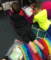 Cade and Zachary Read comfortably!
