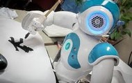 Nao robot writing in a different language