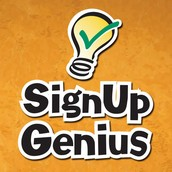 SEE WHAT'S COMING UP! Sign-Up Genius Information