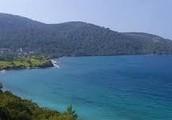 The Aegean Sea's Width