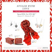 January Trunk Show Exclusives!