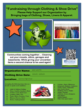 LMS/LHS PTO Clothing and Shoe Drive