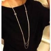 Libby layering necklace $37