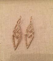 Pave Spear Earrings - Originally $49 - Sale $25