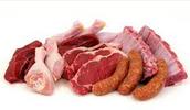 Debes comer la carne.