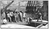 The Sons Of Liberty Boycotting British Tea