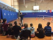 Grab your shuttle and racket its badminton time with Mr. Reardon.