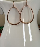 Goddess Teardrop earrings in rose gold