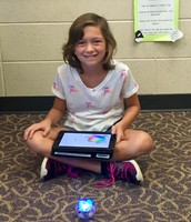 Spheros are easy when you have your own iPad!