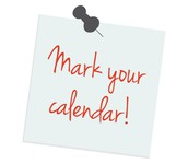 Upcoming Events for Your Calendar