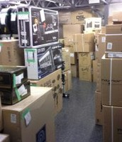 Warehouse stock section
