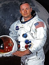 First man on the moon!