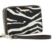 Chelsea Tech Wallet - zebra (dark brown) - SOLD!!