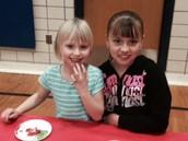 First & Fourth Grade Buddies