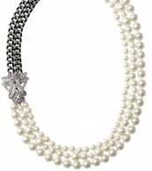 Daisy Pearl Necklace $75