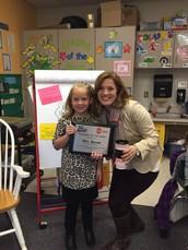 Congratulations Mrs. Bacon!