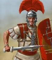 Üks rooma sõdalastest