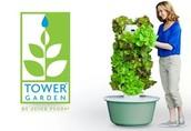 Easy Organic Backyard Growing with the Tower Garden