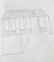 Container home sketch