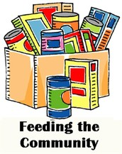 Over a two week period, you were able to collect as many canned food items as we did.