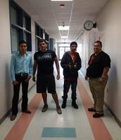 Miguel, Abel, Dante, & Mr. Juarez