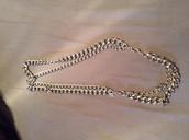 Silver la coco necklace