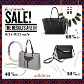 40% TO 60% OFF SOME FABULOUS FALL ITEMS!