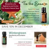 DECEMBER SPECIALS Don't miss the first one!