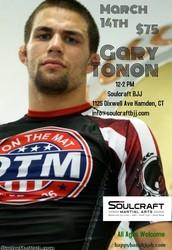 Gary Tonnon Semniar, 3/14