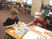 Word Work Station with Accountability