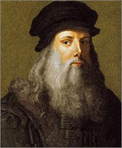 """Leonardo da Vinci was a leading artist, and inventor. His genius crossed so many disciplines that he epitomized the term, """"Renaissance man""""."""