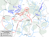 Battle of Spotsylvania Map