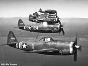 Avionetas de la fuerza armada
