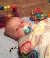 My nephew, Hudson