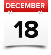IT IS DECEMBER 18th