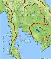 Thainland's Borders