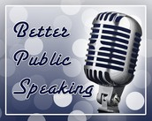 Join public speaking