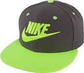 La gorra verde y negro