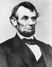 Lincoln becoming president.