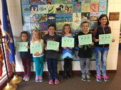 Toadally terrific students this week.