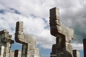 Temple Of Warriors Mayans