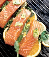 Grilled Salmon with Citrus