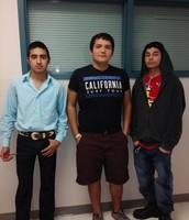 Miguel, Abel, & Dante